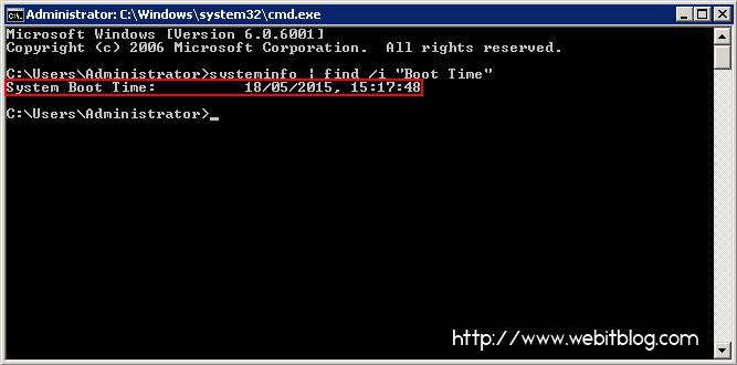 CMD_boot_time